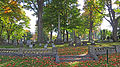 Beechwood Cemetery and some fallen leaves.jpg