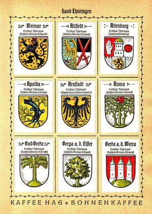 Otto Hupp - Examples of Hupp's work