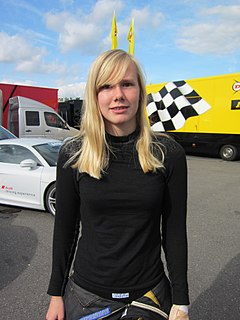 Beitske Visser Dutch racing driver