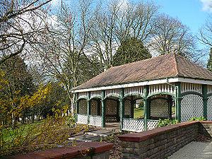 Thomas Hayton Mawson - The Tea House, Belle Vue Park, Newport
