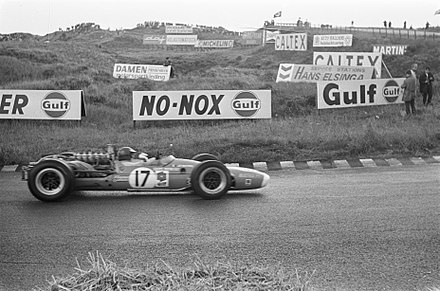 Beltoise at the 1968 Dutch Grand Prix. Beltoise at 1968 Dutch Grand Prix.jpg