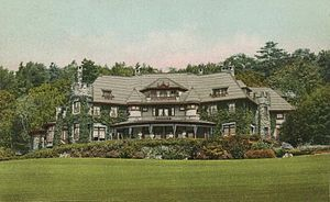 Lenox, Massachusetts - Belvoir Terrace in 1912