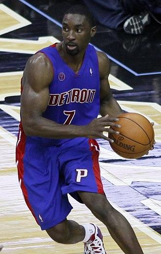 Ben Gordon - Ben Gordon spent three season in Detroit, between 2009 and 2012.