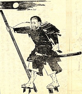 Benkei Japanese warrior monk
