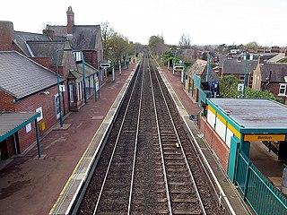 Benton Metro station Tyne and Wear Metro station in North Tyneside