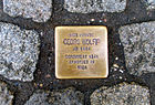 Bergstraße 38, Celle, Stolperstein Georg Wolff, Jg. 1884, deportiert 1941, ermordet in Riga.jpg