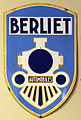 Berliet Automobiles enamel advert sign at the den hartog ford museum pic-088.JPG
