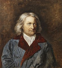 Portrait of Thorvaldsen