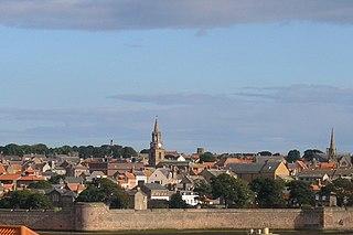 Berwick-upon-Tweed Town and civil parish in Northumberland, England