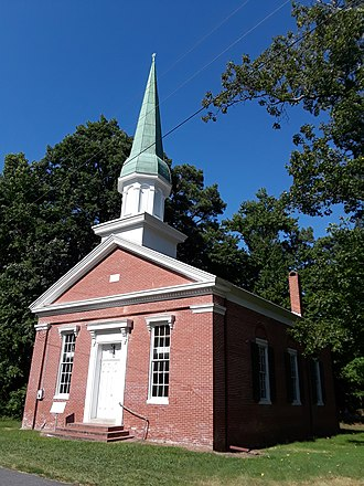 National Register of Historic Places listings in Dorchester County, Maryland - Image: Bethlehem Methodist Church and cemetery, Taylors Island, Maryland 15
