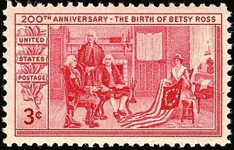 Betsy Ross - Image: Betsy Ross Bicentennial 1952