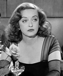 Cropped screenshot of Bette Davis from All About Eve.
