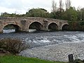 Bickleigh Bridge from the Fisherman's Cot Inn - geograph.org.uk - 1555983.jpg