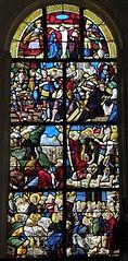 Vitrail de la Passion (église Notre-Dame de Bieuzy)