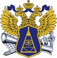 Big emblem of the Federal agency of geodesy and cartography (Russia).png