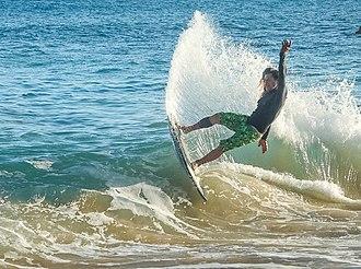 Skimboarding - Poipu Beach Kauai,Hawaii