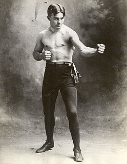Billy Papke American boxer