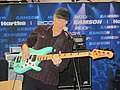 Billy Sheehan jams at the Hartke booth, NAMM 2011.jpg