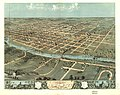 Bird's eye view of Iowa City, Johnson Co., Iowa 1868. LOC 73693398.jpg