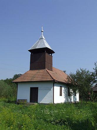 Ulmeni, Maramureș - Image: Biserica reformata de lemn din Somes Uileac