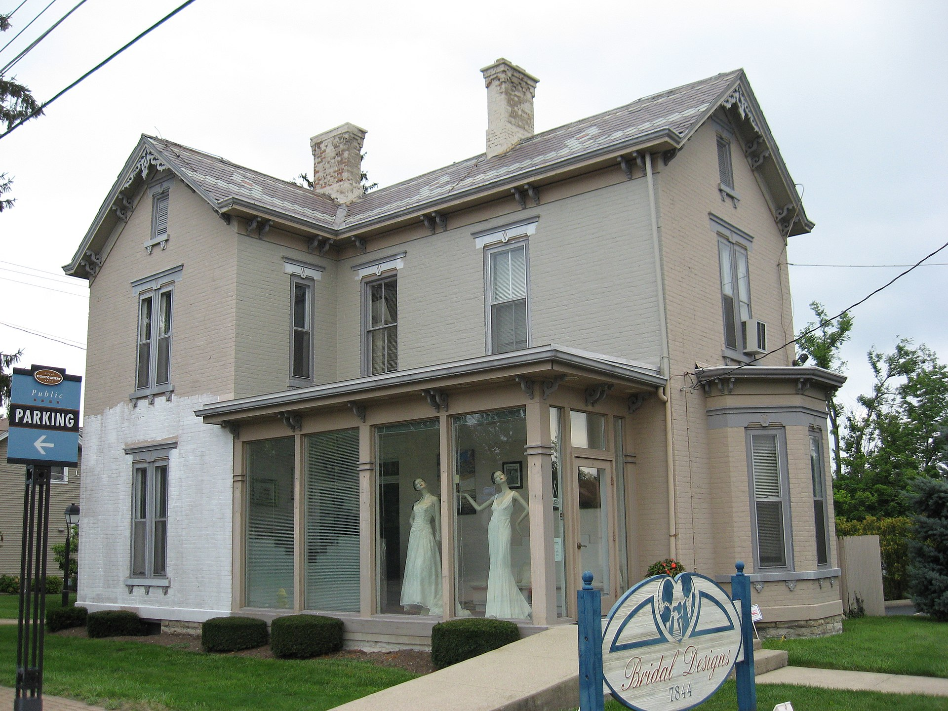 Blair house montgomery ohio wikipedia for Montgomery house