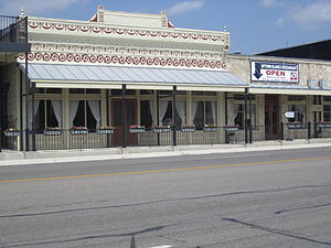 Blanco, Texas - Image: Blanco, TX, downtown IMG 1909
