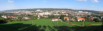 Blansko - View on the town