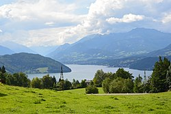 View to Lake Millstatt