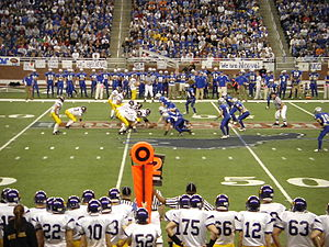 Nouvel Catholic Central High School - Nouvel vs. Blissfield High School, 2007 Michigan Football State Finals, Ford Field, Detroit, Michigan