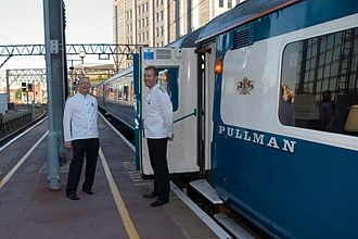 Pullman train (UK) - The Blue Pullman recreated by Hertfordshire Rail Tours