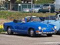 Blue Volkswagen Karmann Ghia Cabriolet, Dutch registration AR-07-60 pic-002.JPG