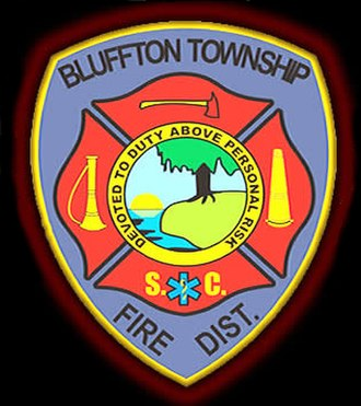 Bluffton, South Carolina - Bluffton Township Fire District Patch