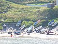 Boats in Collieston Bay - geograph.org.uk - 1461120.jpg