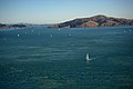 Boats sailing off Tiburon in the San Francisco Bay 131.jpg