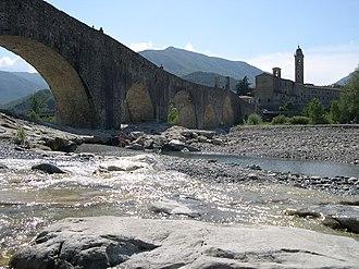 Trebbia - Image: Bobbio Ponte Gobbo