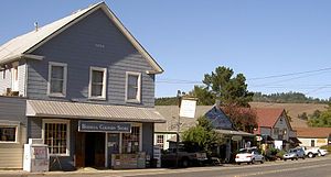Bodega, California - Bodega in 2008: surf shop and historic general store
