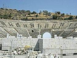 Το αρχαίο θέατρο της Αλικαρνασσού