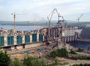 Boguchany Dam - Image: Boges 11