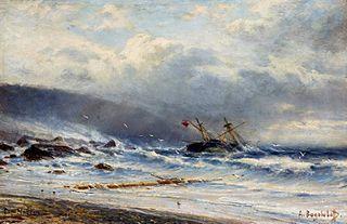 Rough sea in Cap Martin