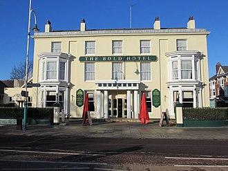 Listed buildings in Southport - Image: Bold Hotel, Southport