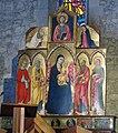Bolsena, s. cristina, chiesa maggiore, int., polittico di sano di pietro 01.JPG