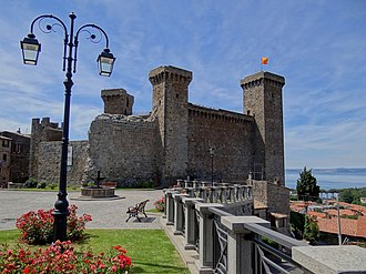 Bolsena - The Castle of Bolsena.