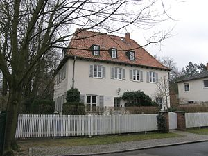 Bonhoeffer family - Bonhoeffer family home in Berlin-Westend
