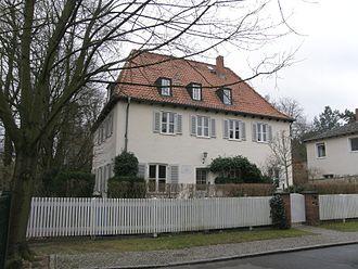 Bonhoeffer family - Bonhoeffer family home in Berlin-Westend