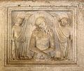 Bonino da Campione, sarcofago di regina della scala, da s. giovanni in conca, 02.JPG