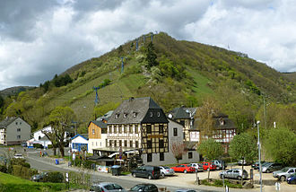 Boppard - The Vierseenblick chairlift.