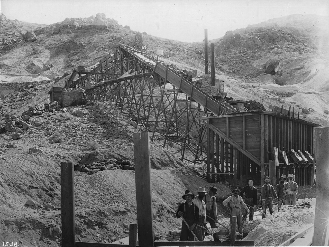 File Borax Smith S Mine At Borate Or Harmony California