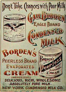 Borden Condensed Milk 1898