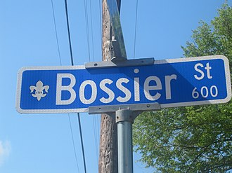 Pierre Bossier - Bossier Street in Natchitoches is named for Pierre Bossier.