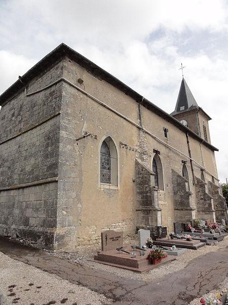 Boviolles (Meuse) église de la Nativité-de-la-Sainte-Vierge